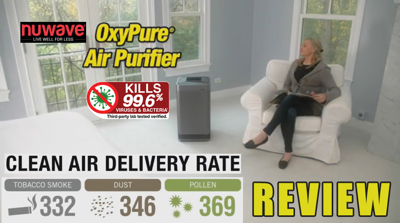 NuWave OxyPure Reviews - DO NOT BUY - Read This First! 3 Stars